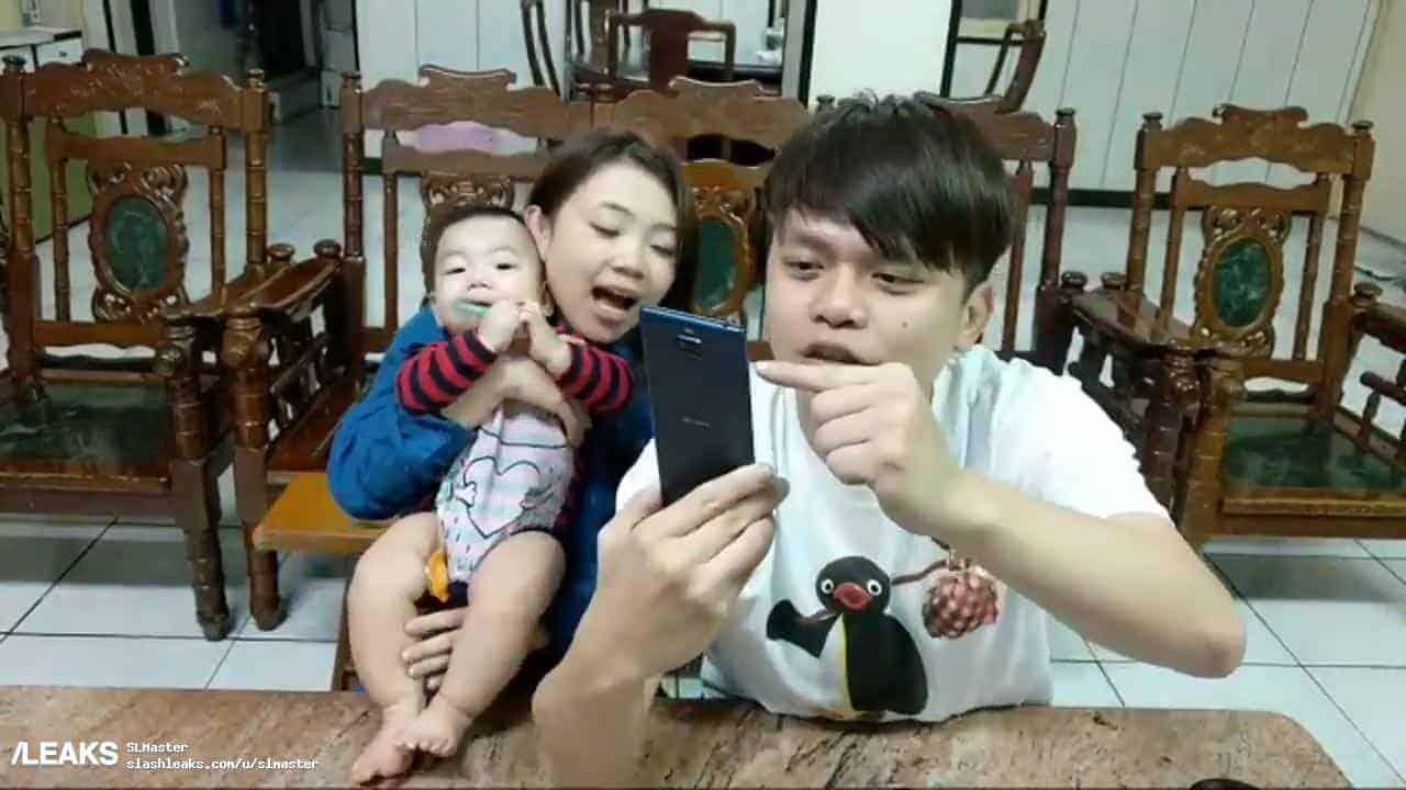 Sony XA3 YouTuber Leak 2