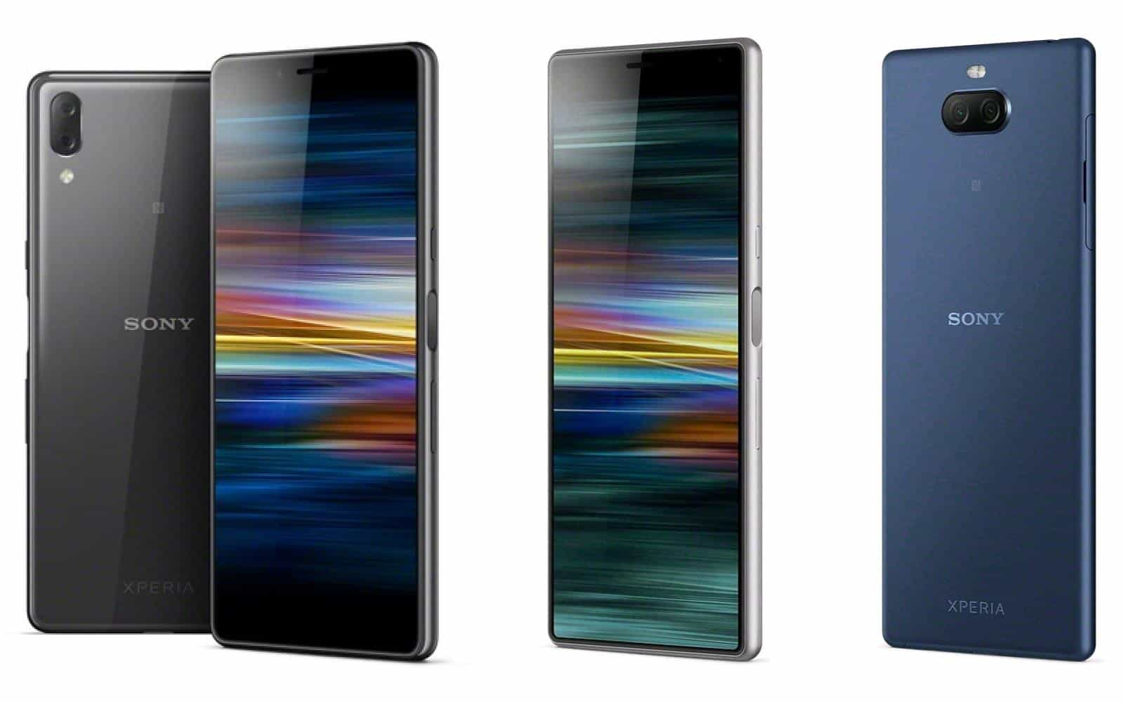 Sony Xperia 10 L3 composite from press images