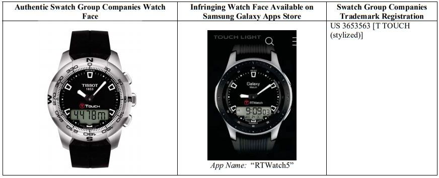 Swatch Samsung Watch Face 25