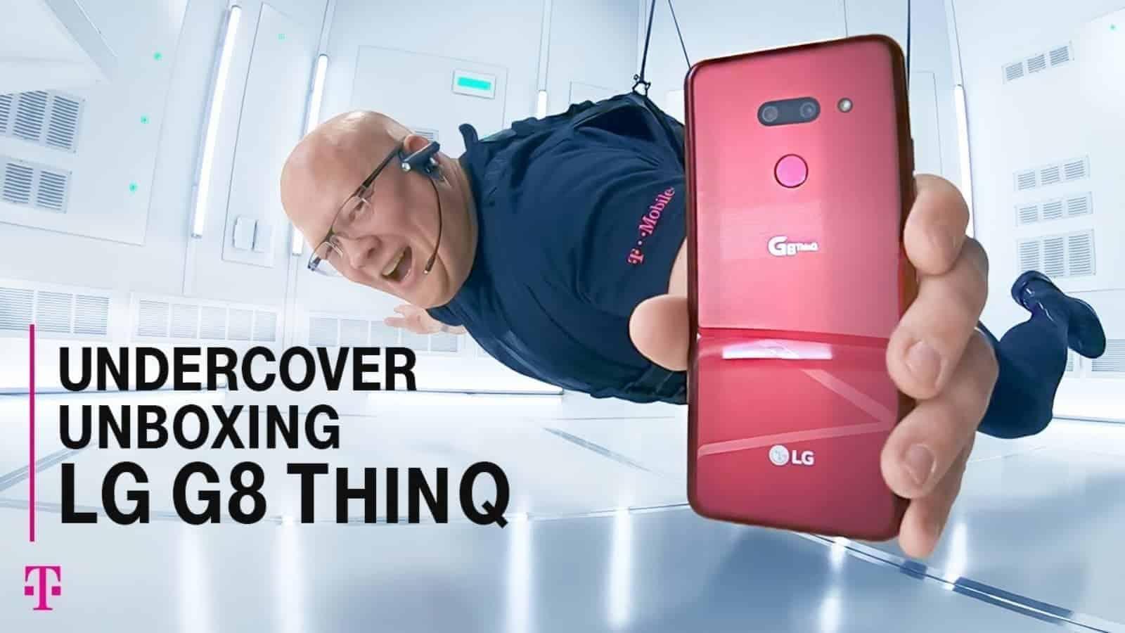 TMobile LG G8 ThinQ Unboxing
