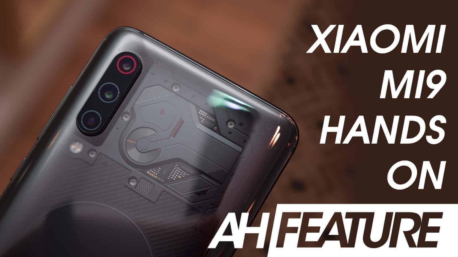 Xiaomi Mi 9 Hands On