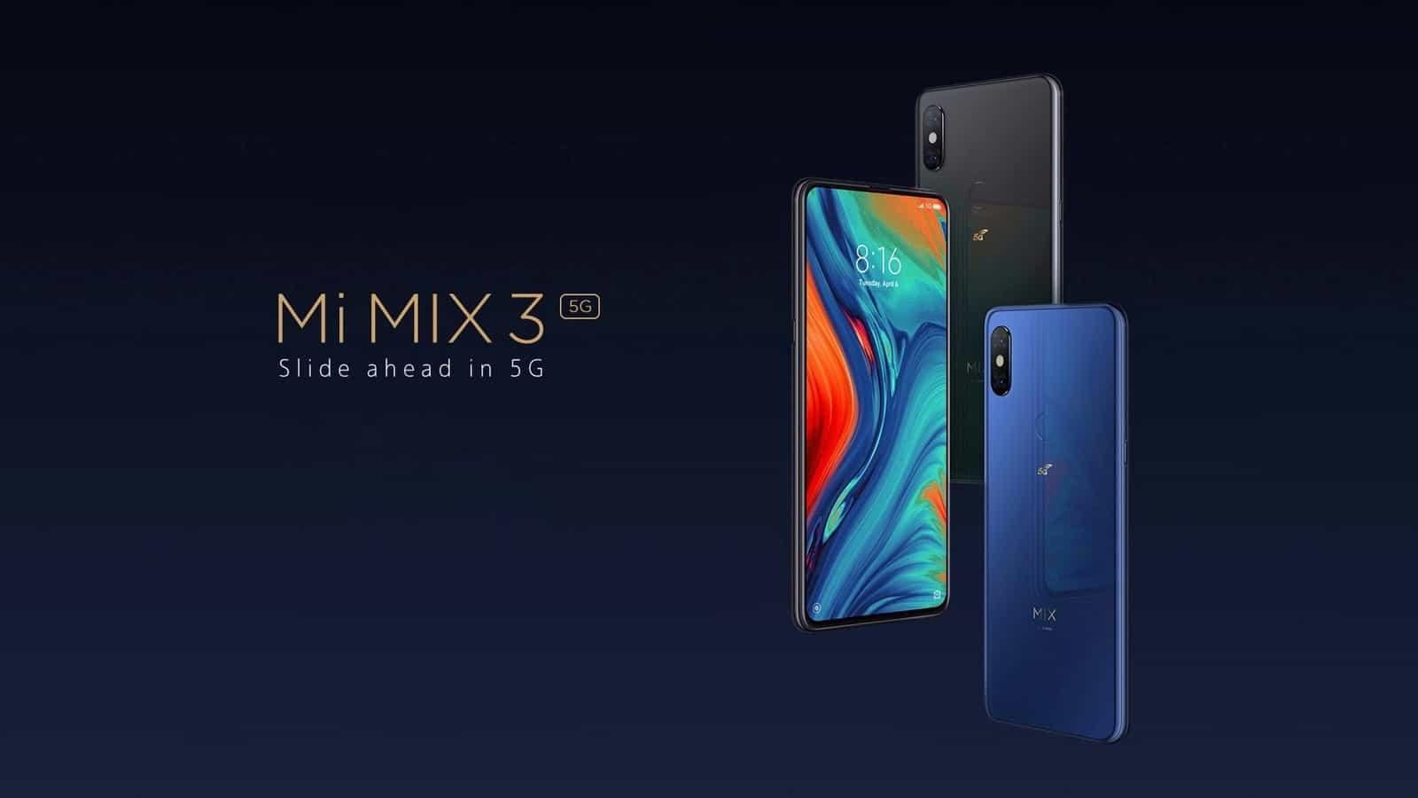 Xiaomi Mi MIX 3 5G offical image 1