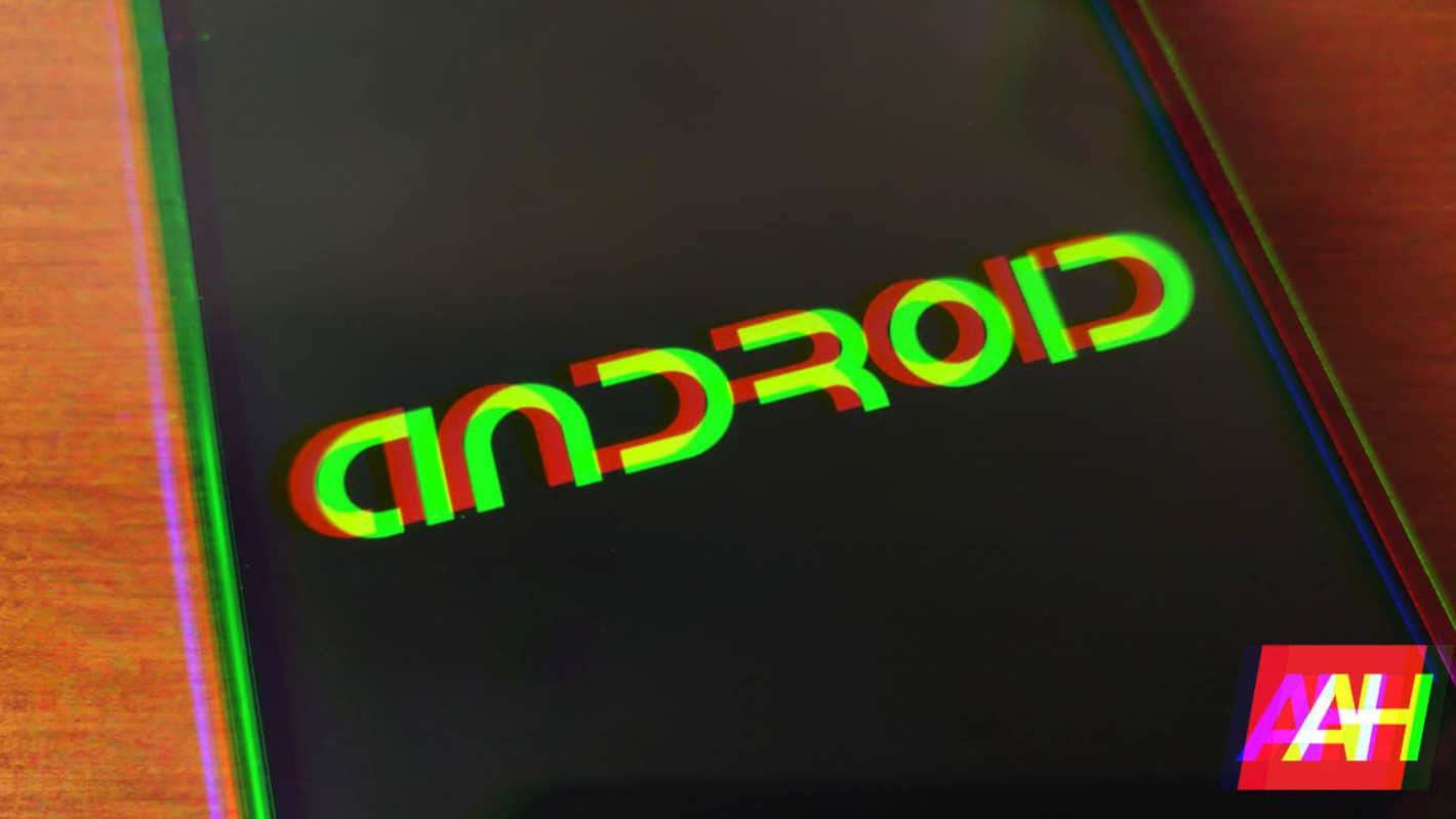 AH Android logo dark new logo glitch 1