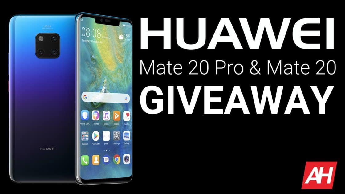 Android Headlines Huawei Mate 20 Pro and Mate 20 Giveaway 3