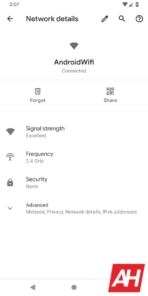 Android Q Wi Fi Settings AH 1 of 3