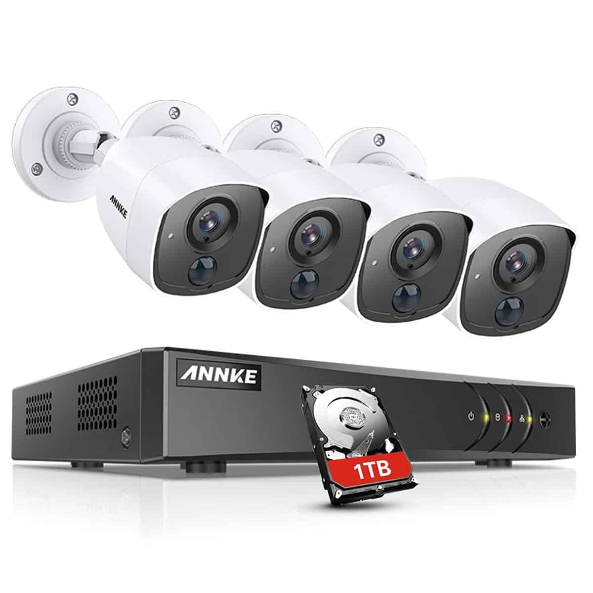 Annke 8 Channel 3MP 5 in 1 Security Camera System 1