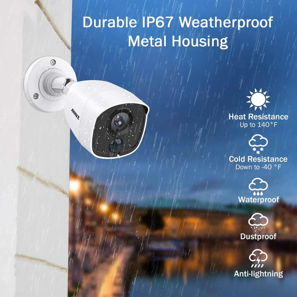 Annke 8 Channel 3MP 5 in 1 Security Camera System 7