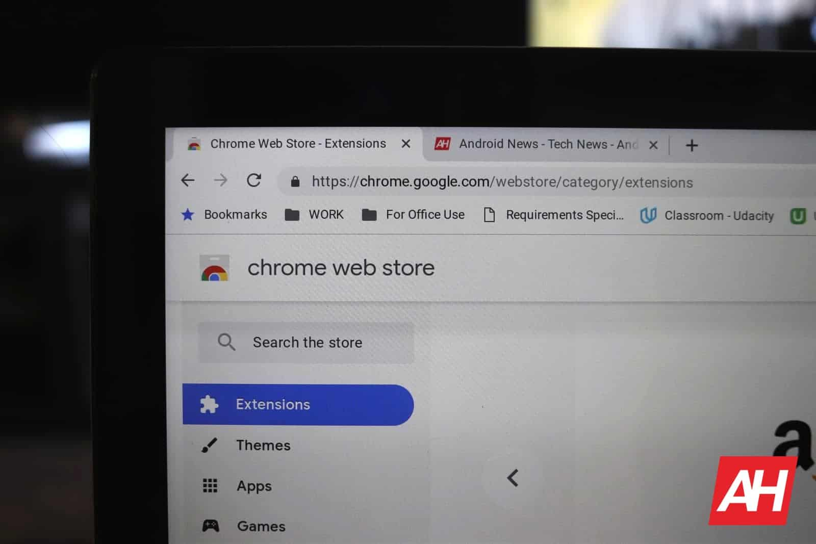 Chrome Web Store Extensions AH 2019