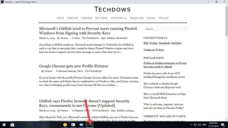 Chrome focus mode tab from techdows