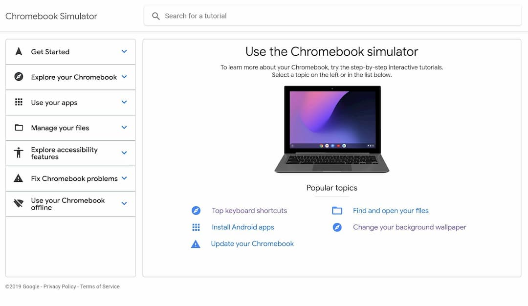 Chromebook Simulator screencaps 02