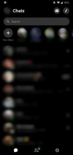 Facebook Messenger dark mode 4