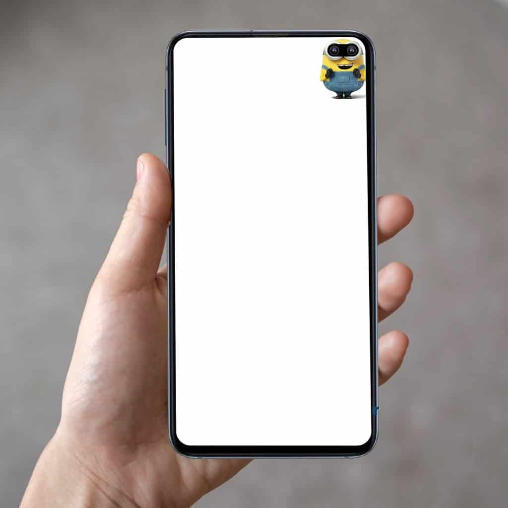 Galaxy S10 wallpapers embrace display holes 3