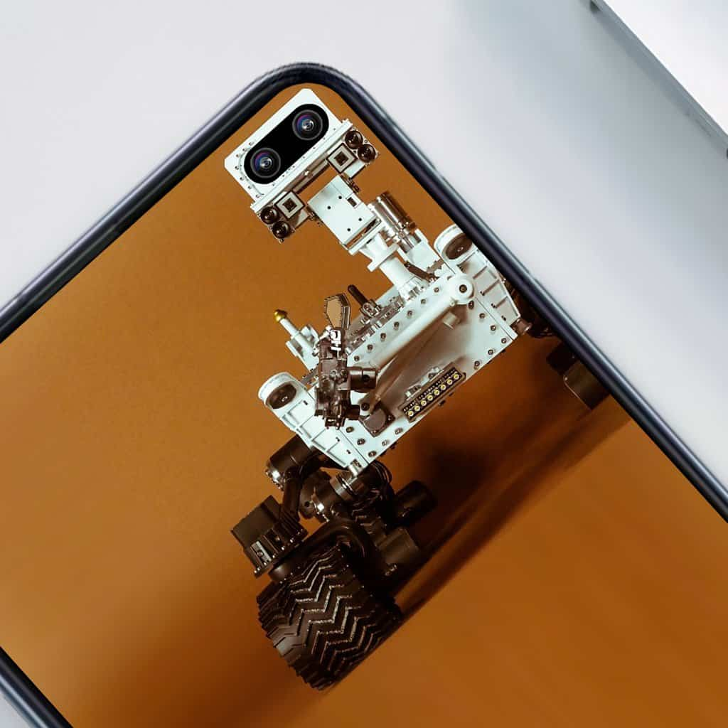 Galaxy S10 wallpapers embrace display holes 4