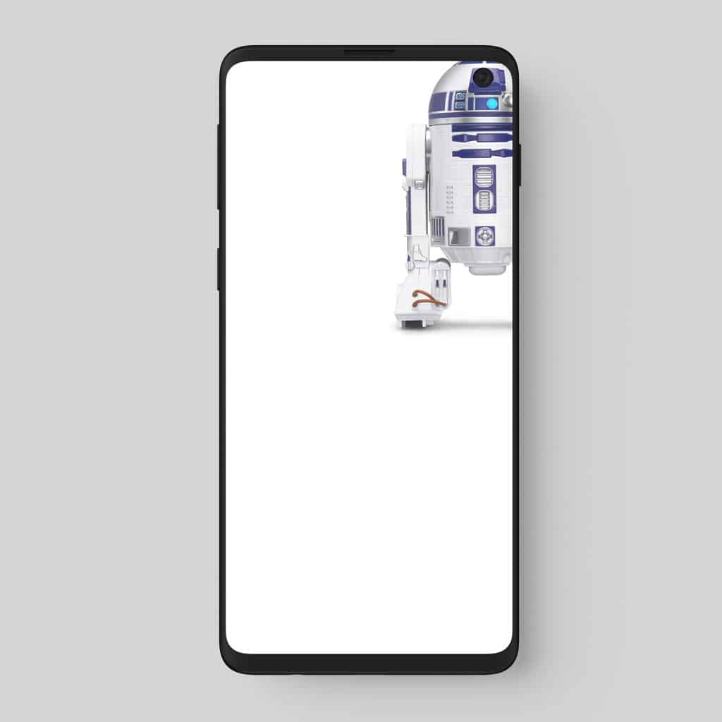 Galaxy S10 wallpapers embrace display holes 5