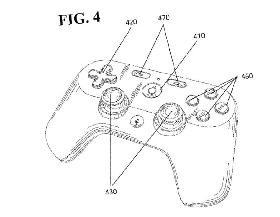 Google Patent US020190030425A120190131 Controller Design 02