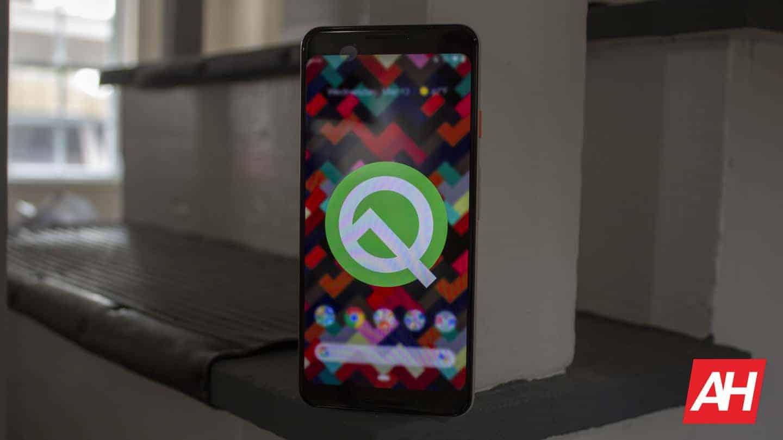 Google Pixel 3 Android Q Beta AH NS 10