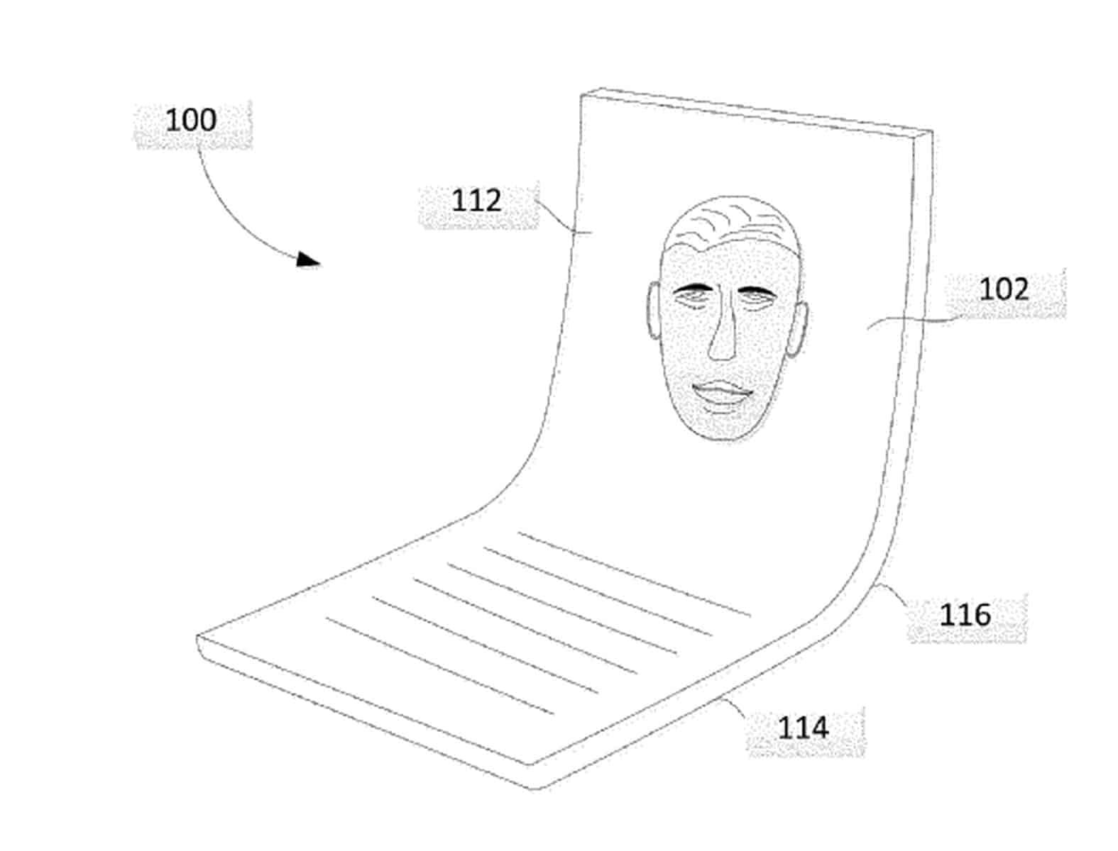 Google foldable phone patent 1
