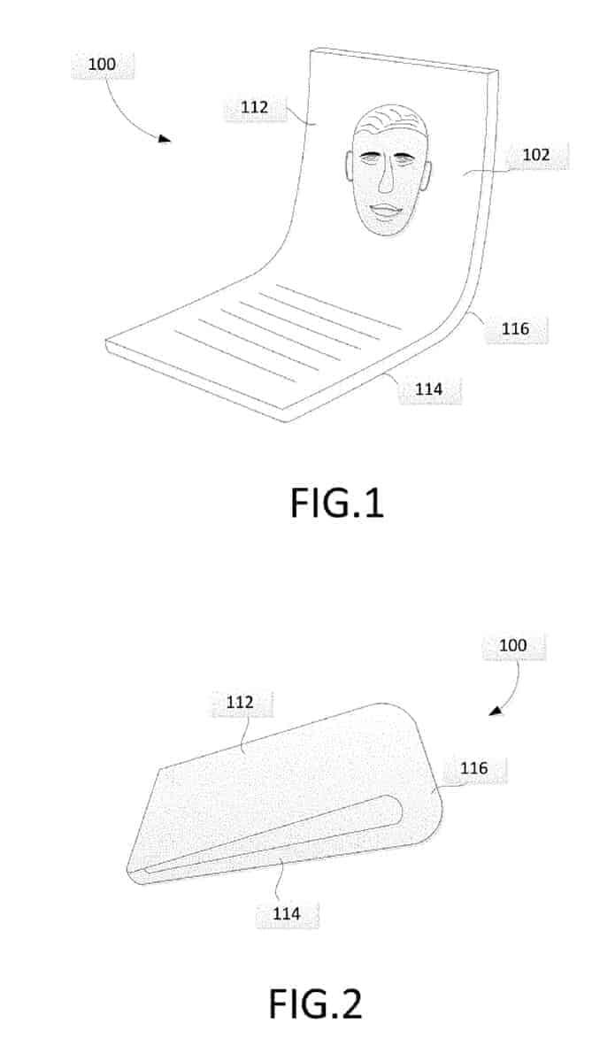 Google foldable phone patent 2