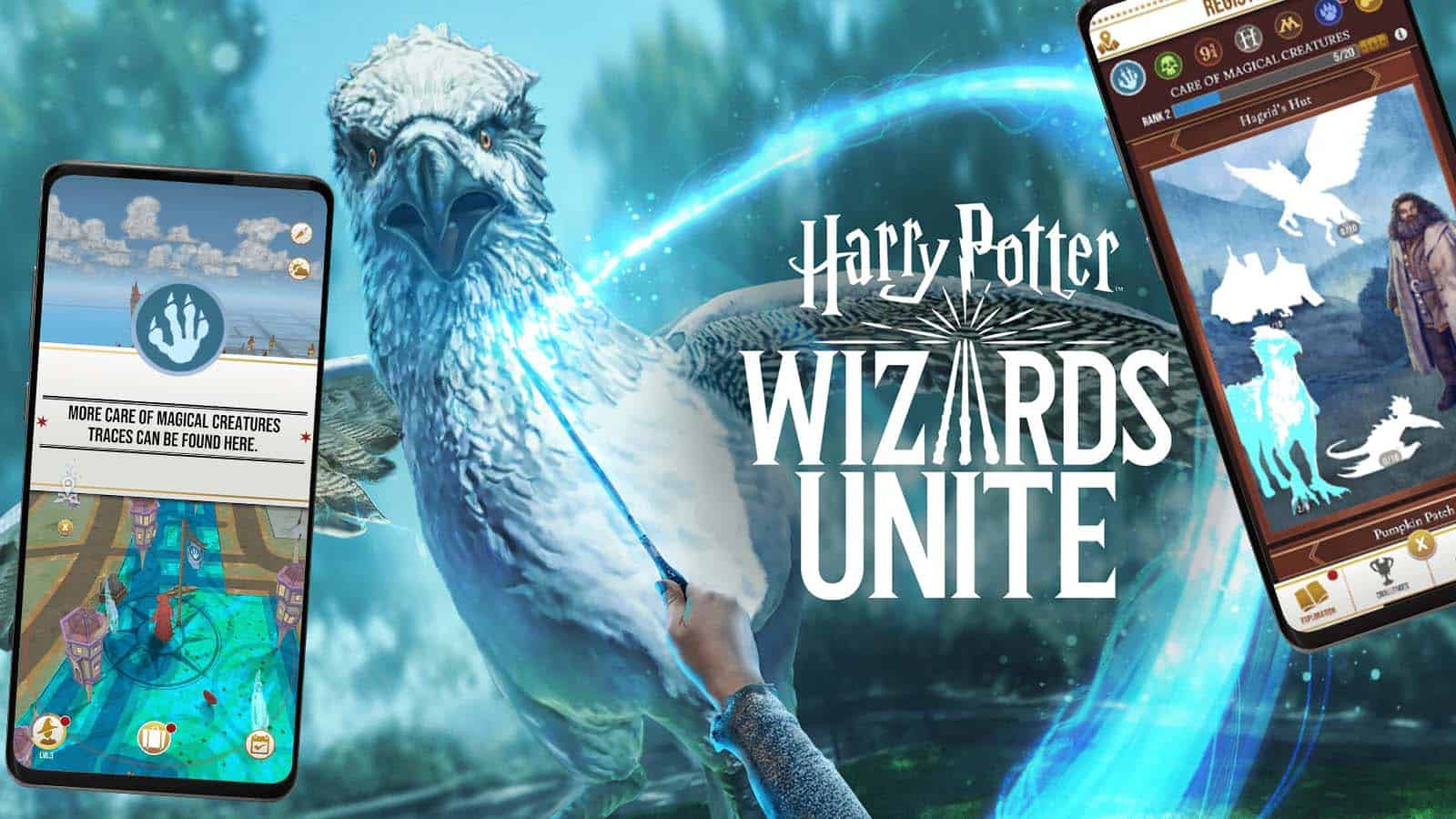 Harry Potter Wizards Unite Mockup Cover
