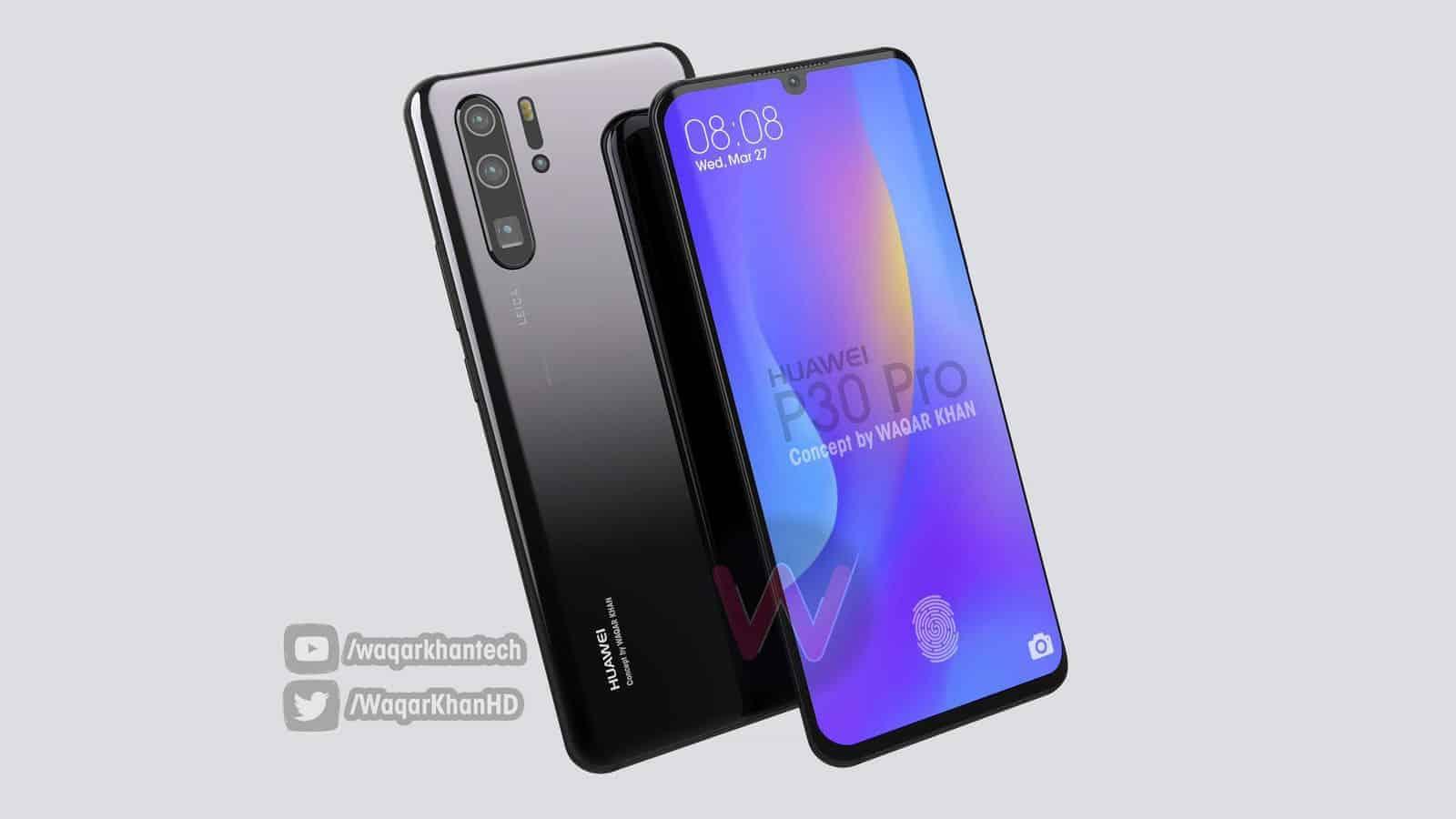 Huawei P30 Pro Waqar Khan concept 1