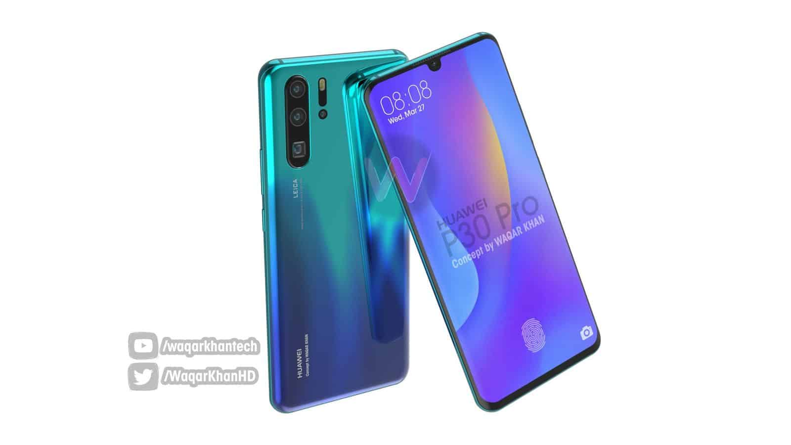 Huawei P30 Pro Waqar Khan concept 3