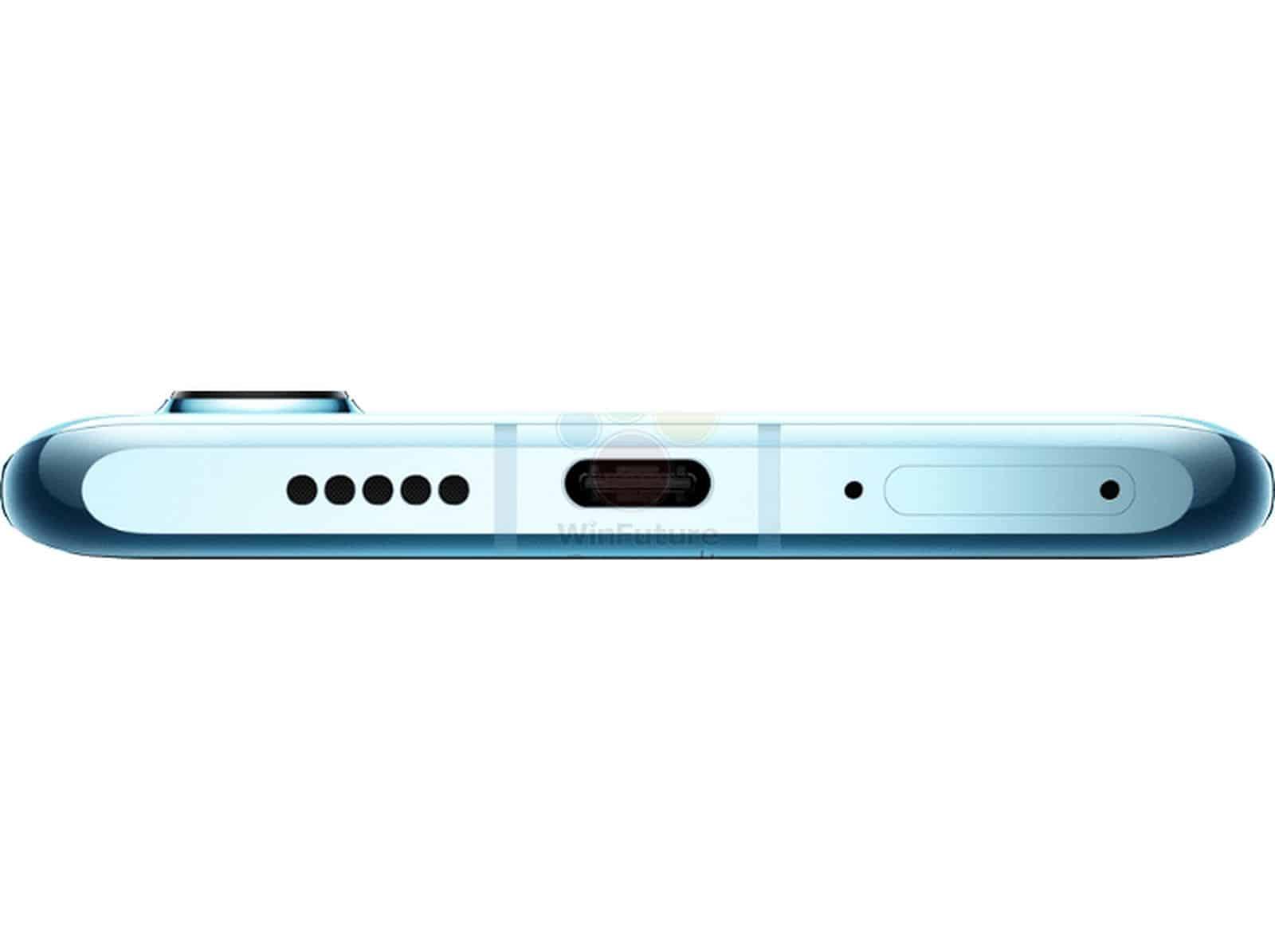 Huawei P30 Pro bottom side leak 1