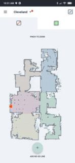 Neato Botvac D7 Connected AH NS App edit floorplan