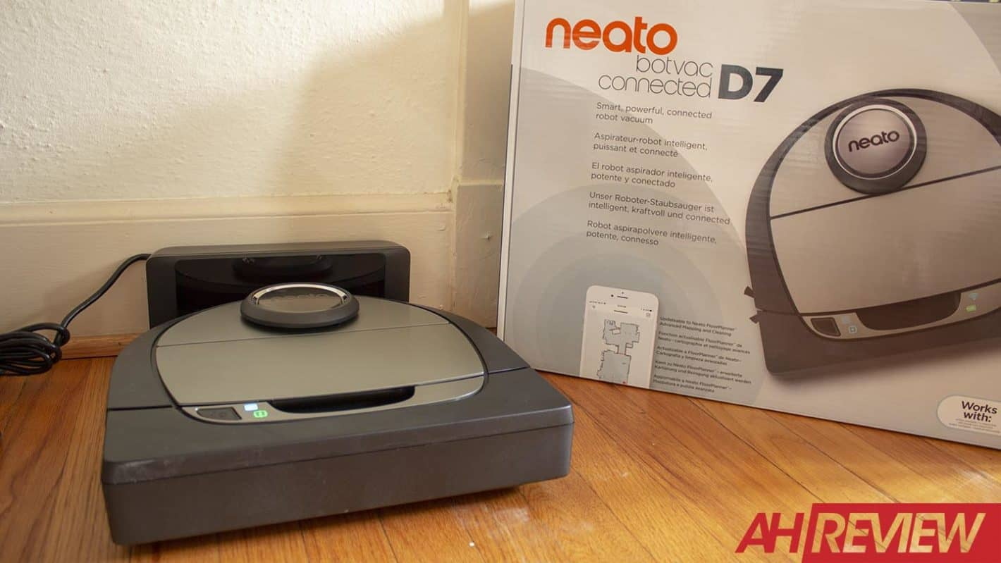 Neato Botvac D7 Connected AH NS Review