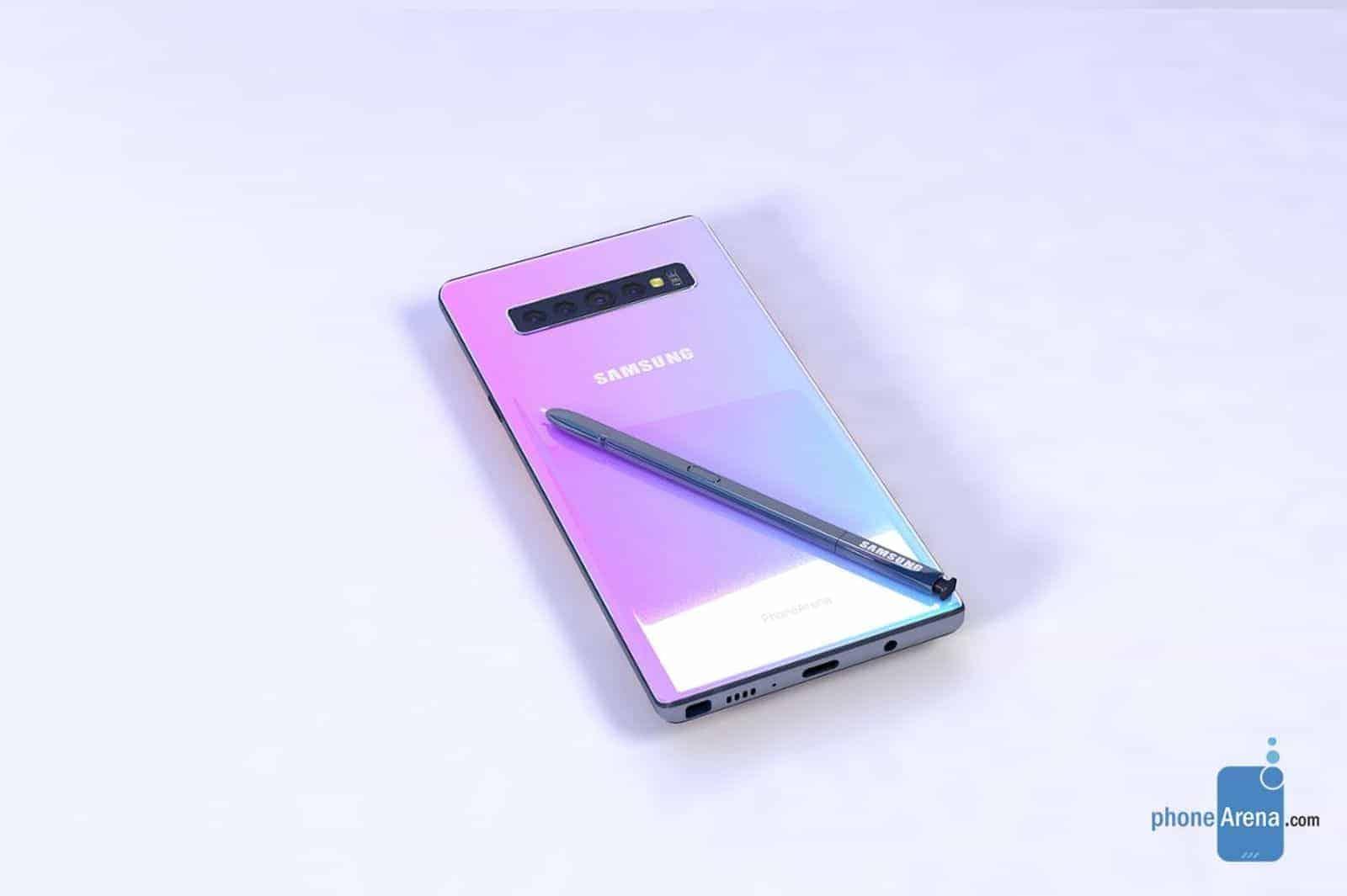 Samsung Galaxy Note 10 Unofficial Render 4