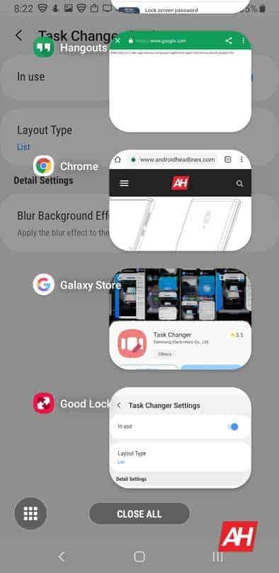 Samsung Galaxy Note 9 Good Lock 2019 screenshot 02r