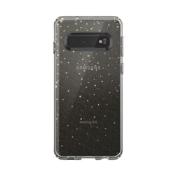 Speck Presidio Stay Clear Glitter case Galaxy S10 2