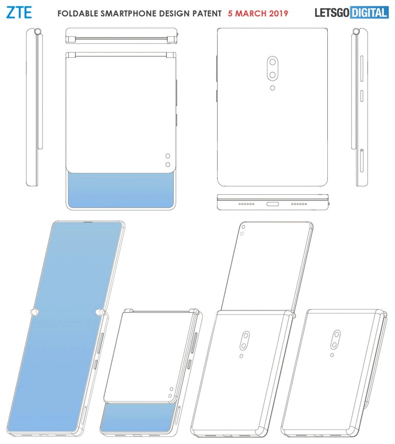 ZTE Clamshell Foldable 11