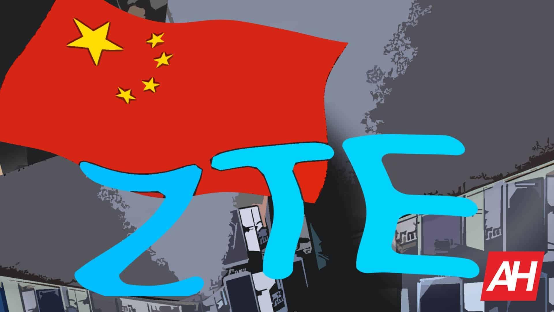 ZTE Logo China Flag Illustration AH March 14 2019