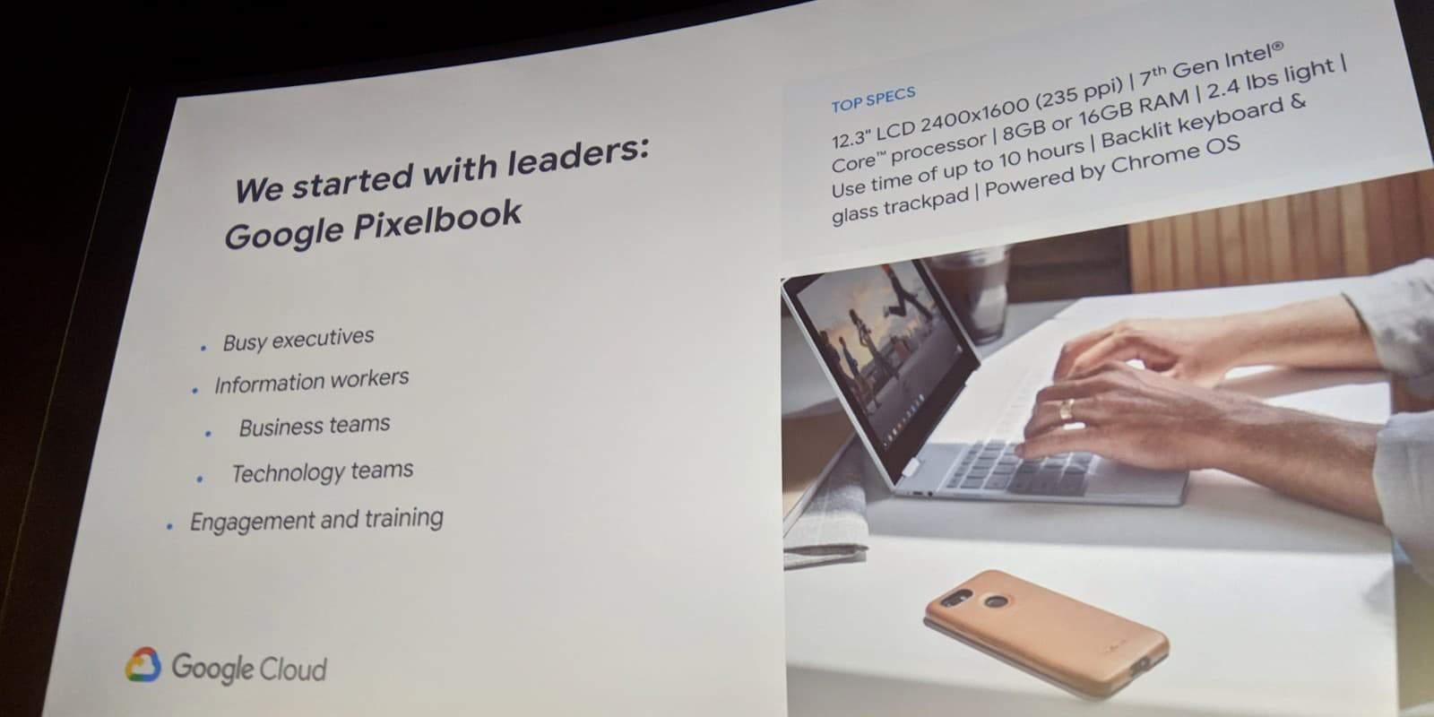01 google next pixelbook target Cloud Next 2019 9to5Google