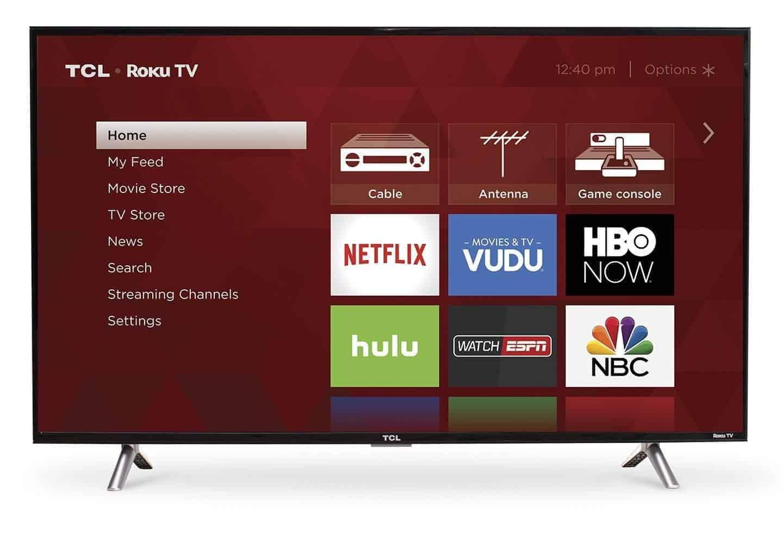 TCL 43S305 43-Inch 1080p Roku Smart LED TV (2017 Model) - Amazon