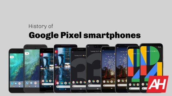 AH Google Pixel history October 2019