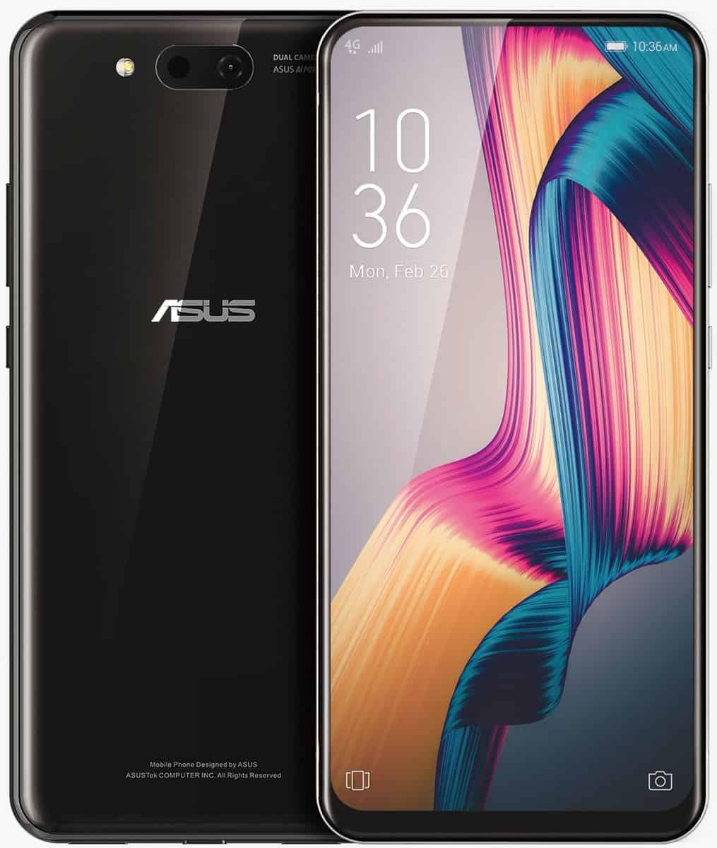 ASUS 5G dual slider smartphone design 2