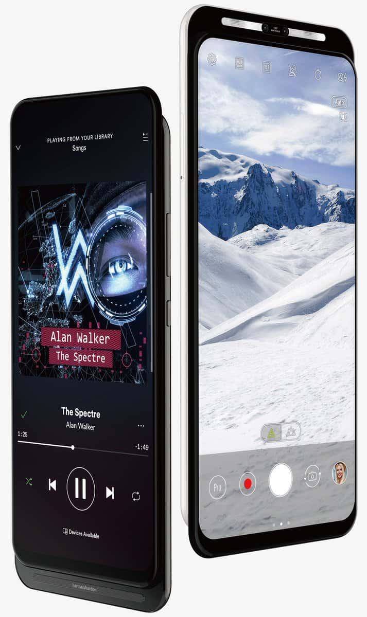 ASUS 5G dual slider smartphone design 3