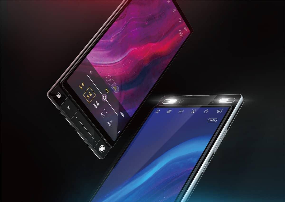 ASUS 5G dual slider smartphone design 4