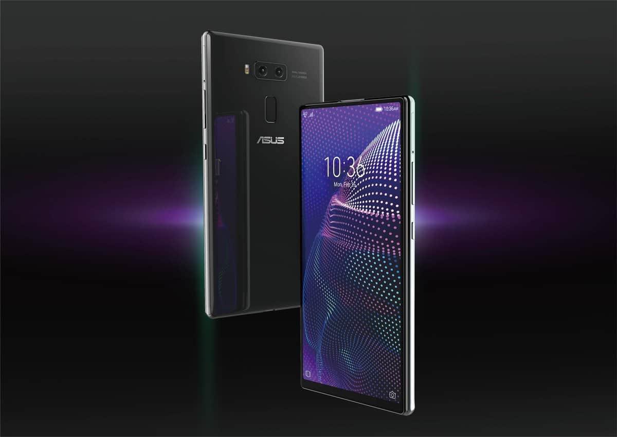 ASUS 5G dual slider smartphone design 5