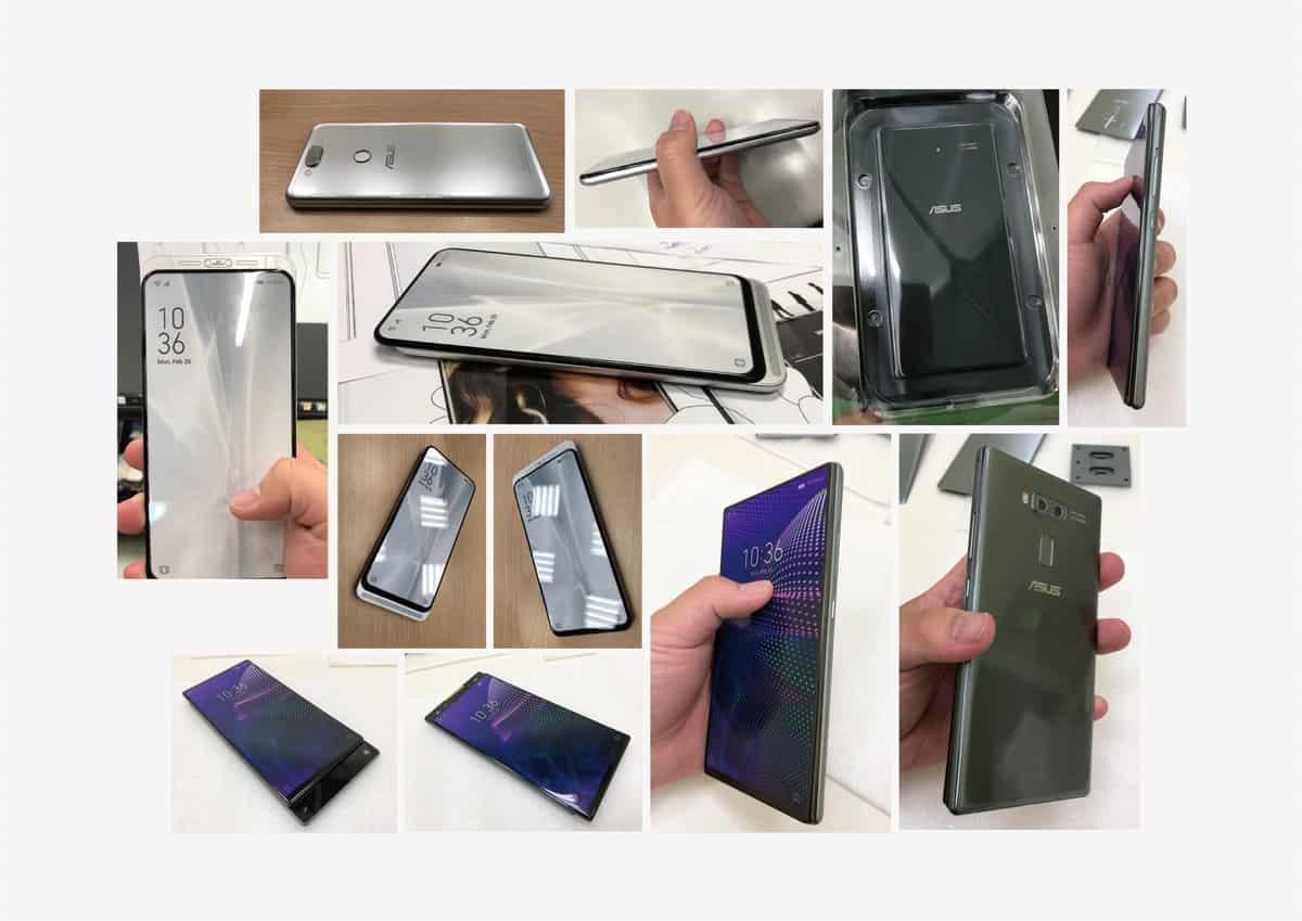 ASUS 5G dual slider smartphone design 6