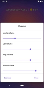 Android Q Beta 2 Volume Sliders 02