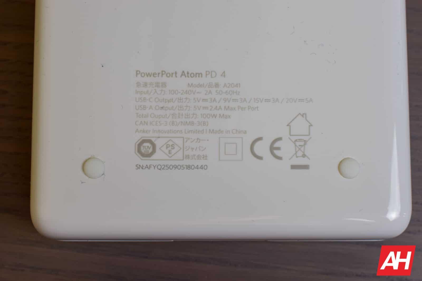 Anker PowerPort Atom PD 4 AM AH 7