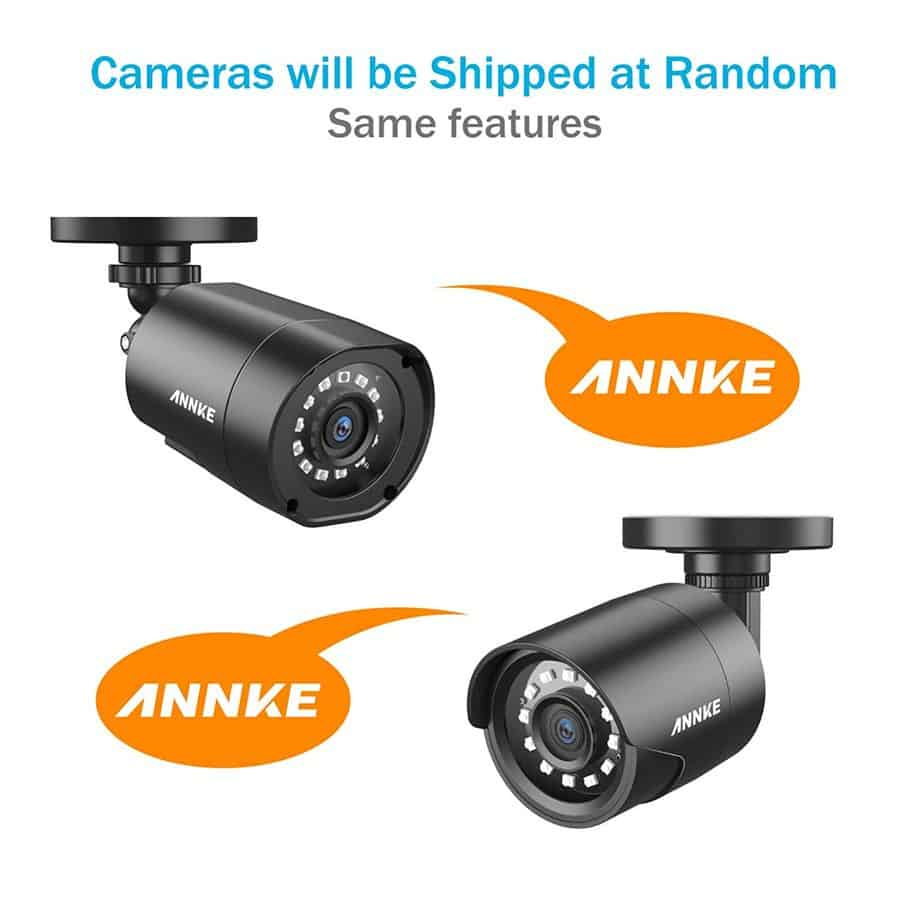 Annke 4CH 1080p security camera system Lite image 3