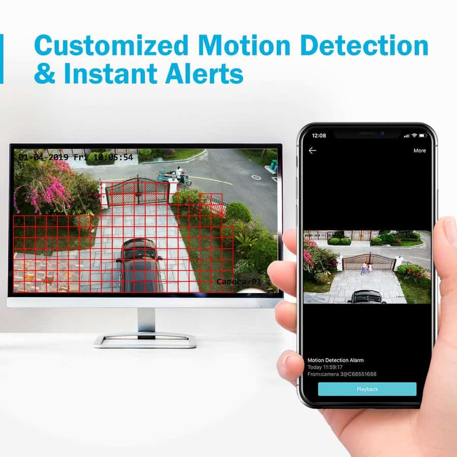 Annke 4CH 1080p security camera system Lite image 5