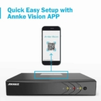 Annke 4CH 1080p security camera system Lite image 9