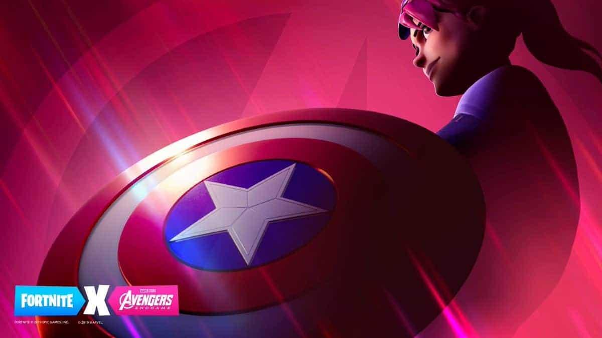Avengers Endgame Fortnite Crossover