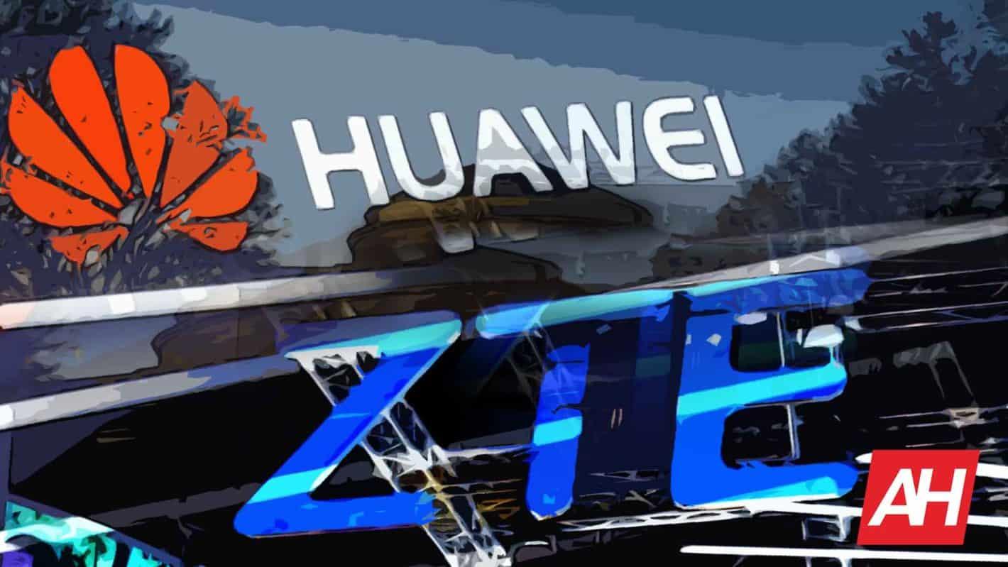 Huawei ZTE Logos Illustration AH April 4 19