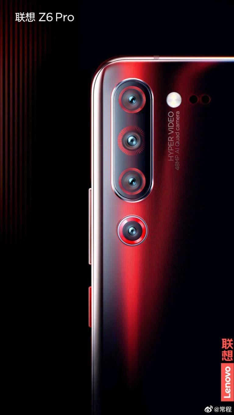 Lenovo Z6 Pro back side 1