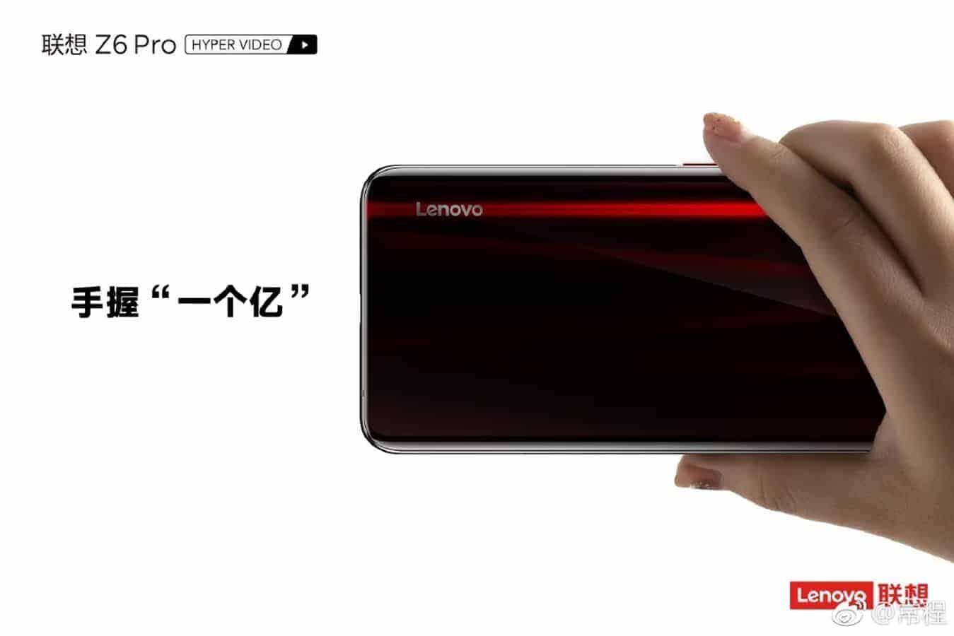 Lenovo Z6 Pro back side 2